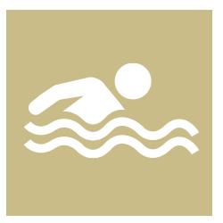 Libre accès à la piscine